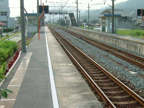 備前片岡駅