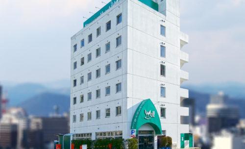 ビジネスホテル ウェル岡山
