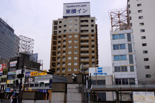 東横INN岡山駅西口広場