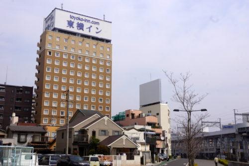 東横INN岡山駅西口右